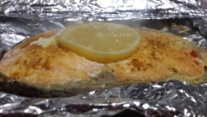 готовый лосось