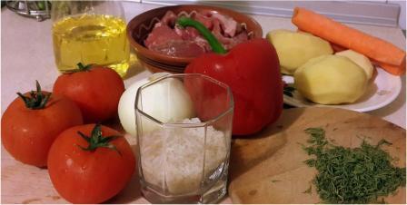 суп харчо, ингредиенты