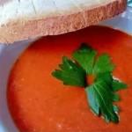 Томатный суп в мультиварке Редмонд