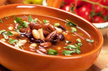 суп из фасоли в мультиварке рецепт с фото
