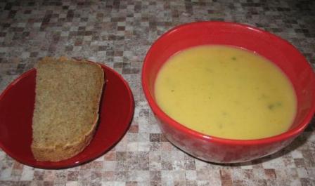 Картофельный суп пюре в мультиварке