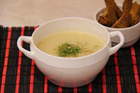 вкусный картофельный суп пюре в мультиварке