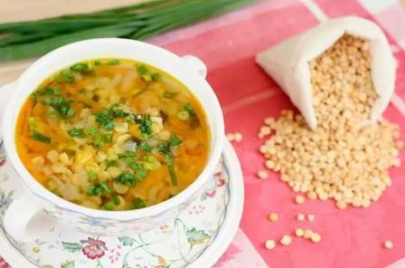Гороховый суп в мультиварке редмонд