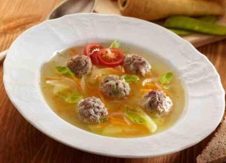 Пошаговый рецепт суп с фрикадельками в мультиварке
