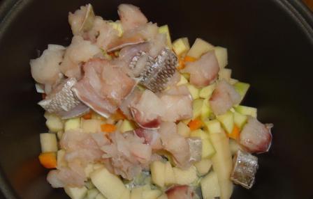 Суп рыбный пошаговый рецепт в мультиварке