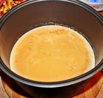 рецепт топленого молока в мультиварке