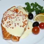 Обалденная семга в сливочном соусе в мультиварке