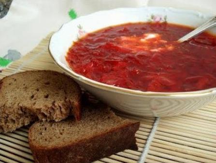 Пошаговый рецепт борща с тушенкой в мультиварке