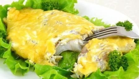Рыба с сыром в мультиварке_1
