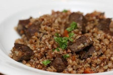 Гречка с мясом пошаговый рецепт в мультиварке