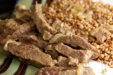 гречка с мясом в мультиварке рецепт
