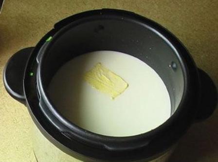 Рецепт ячневой каши на молоке в мультиварке