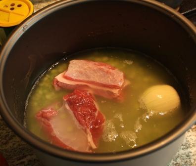 Суп гороховый рецепт в мультиварке
