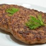 Готовим оладьи из печени говядины с добавлением риса в мультиварке