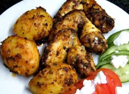 курица с картошкой в мультиварке