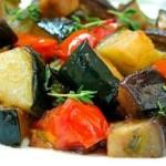 Соте из овощей, приготовленное  мультиварке