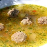 Суп с рыбными фрикадельками в мультиварке